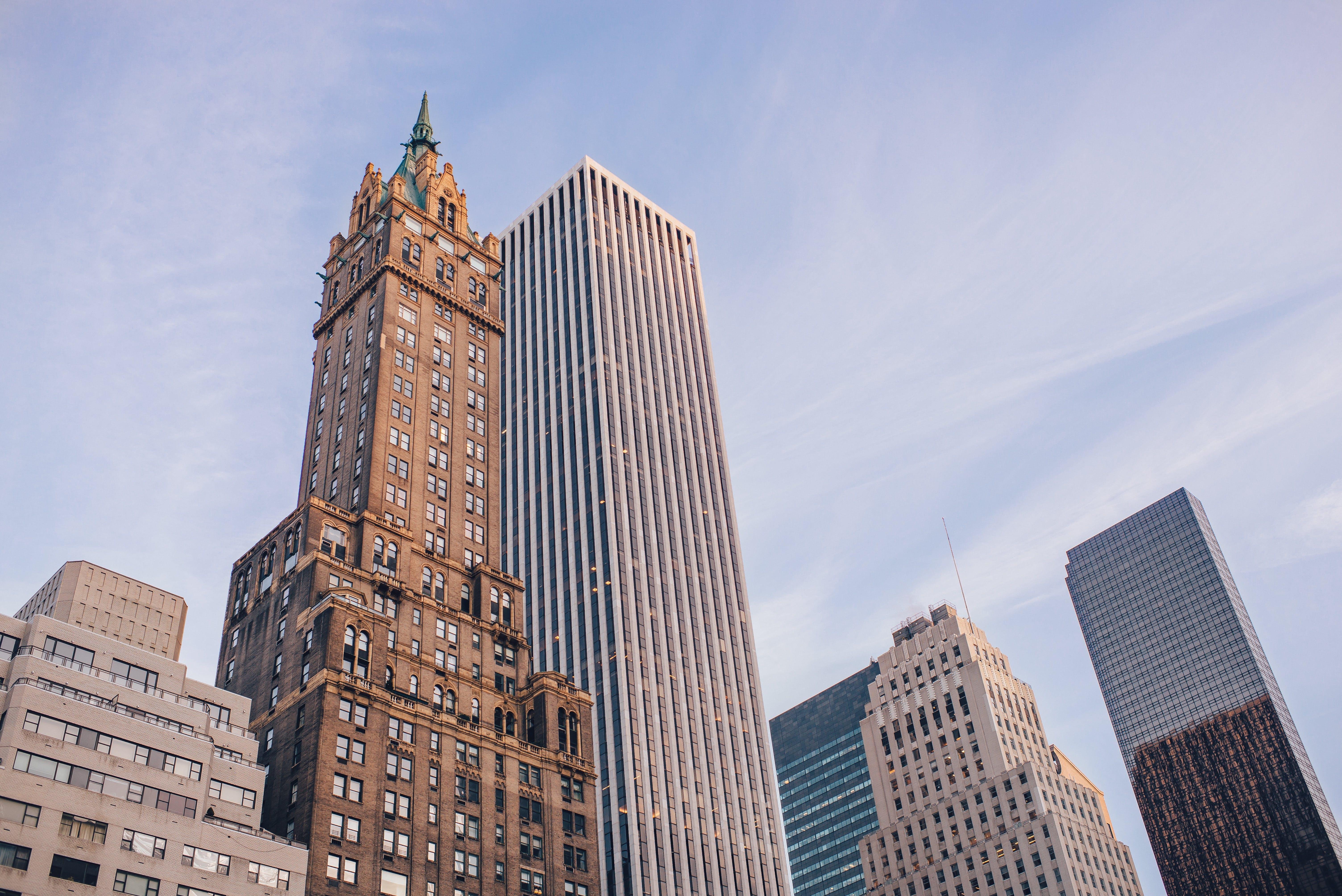 Free stock photo of city, skyline, building, glass