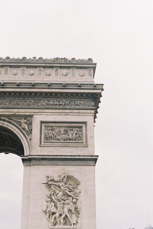 Imagine de stoc gratuită din Arc de Triumf, arhitectură, clădire, monument