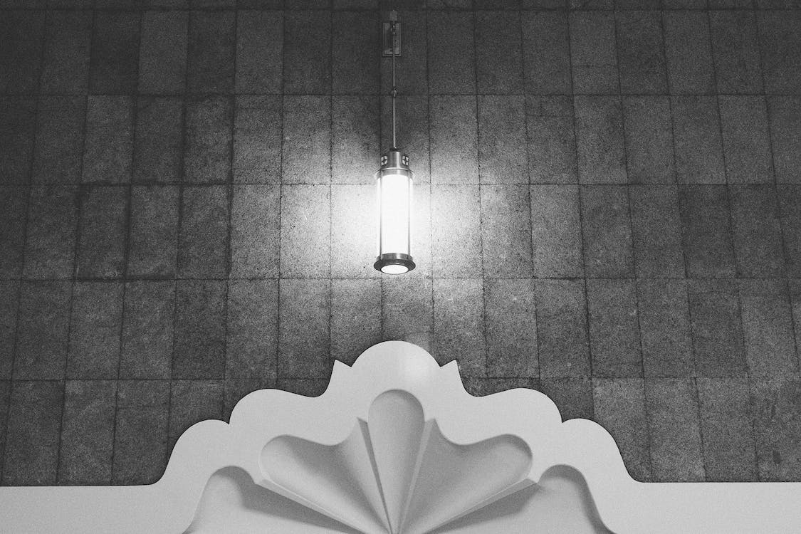 Gray Sconce