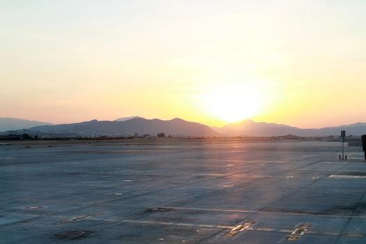 Free stock photo of dawn, sunset, dust, sunrise