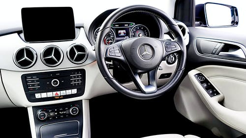 Free stock photo of car, car interior, display, leather trim