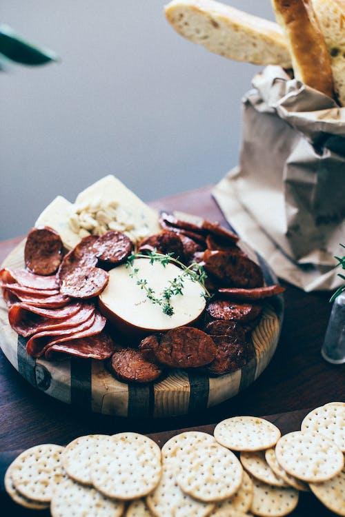 Fotos de stock gratuitas de adentro, angulo alto, aperitivo