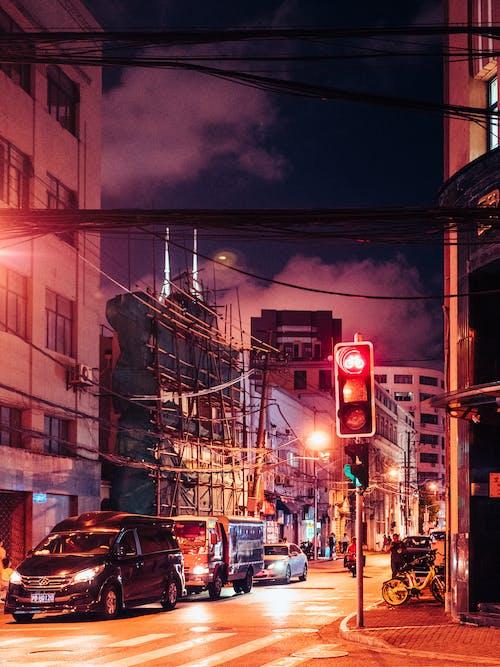 交通, 交通系統, 光, 光線 的 免费素材图片