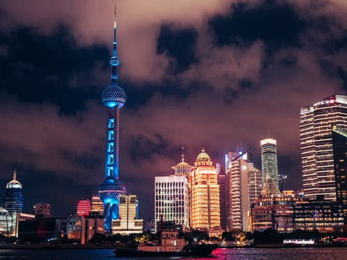 商業, 城市, 塔, 天際線 的 免费素材图片