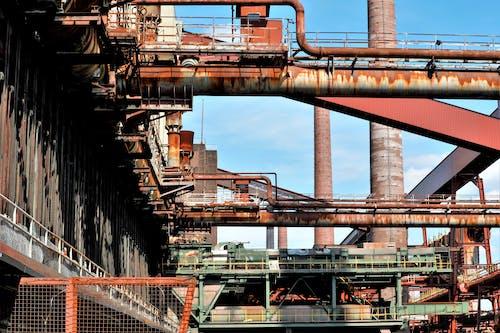 Free stock photo of industrieanlagen, maschinen