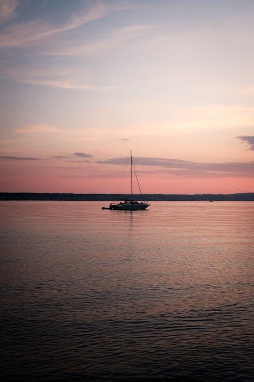 Gratis stockfoto met afgetekend, avond, blikveld, bodenmeer