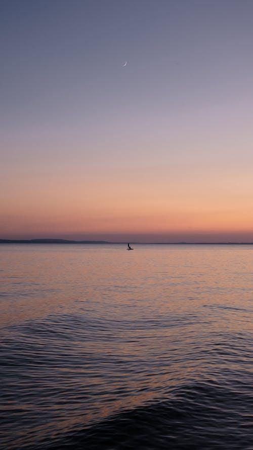Gratis stockfoto met afgetekend, avond, bodenmeer, dageraad