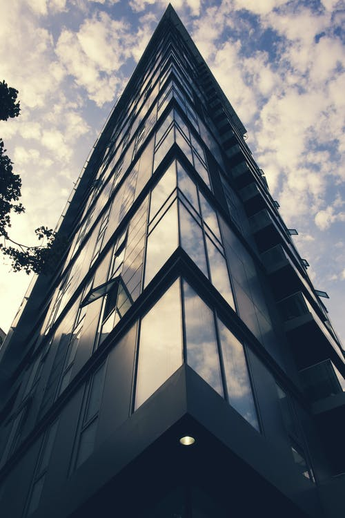 Free stock photo of apartment building, cloudy day
