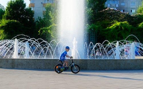 คลังภาพถ่ายฟรี ของ การปั่นจักรยาน, คน, จักรยาน, ต้นไม้