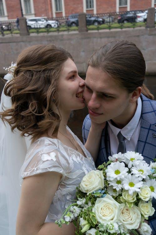 Ảnh lưu trữ miễn phí về bó hoa, Chân dung, chú rể, cô dâu