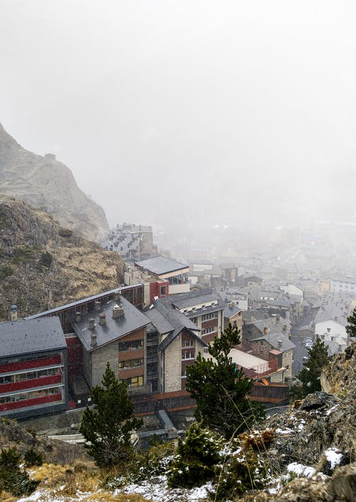 Základová fotografie zdarma na téma al aire libre, andorra, architektura, blanco como la nieve