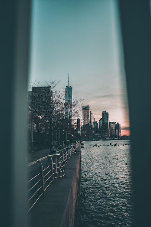 Základová fotografie zdarma na téma mrakodrap one world trade center, new york, zima