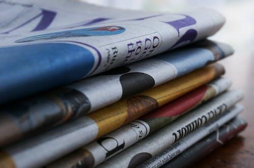 Gratis lagerfoto af avis, aviser, broget, Fakta