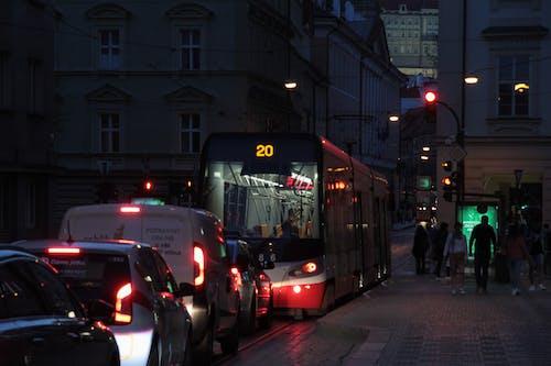 Free stock photo of automobil, doprava, město v noci