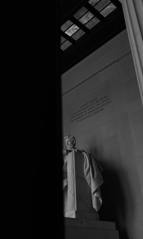 Gratis lagerfoto af abraham lincoln, lincoln, lincoln memorial