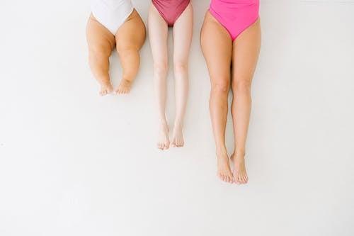 3 Women in Pink Panty