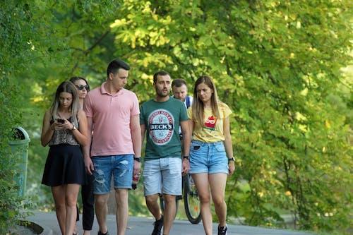 คลังภาพถ่ายฟรี ของ กลุ่ม, การเดิน, คน, ทางเดิน
