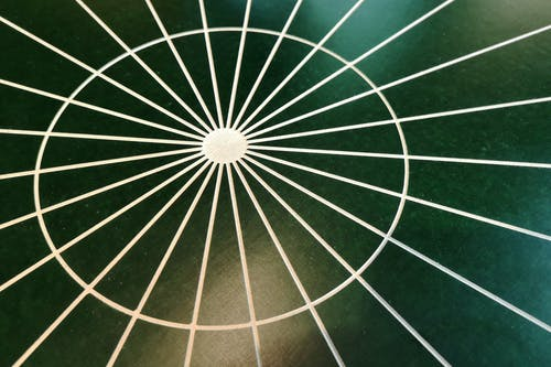 Free stock photo of abstract, circle, green background, lines