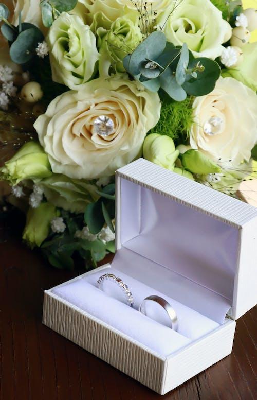 결혼, 결혼 날, 결혼 반지, 결혼식 날의 무료 스톡 사진