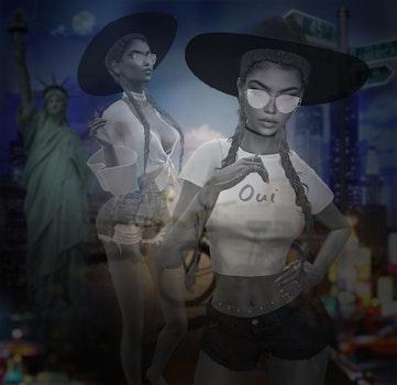 Free stock photo of girl, new york city