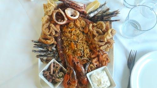 Free stock photo of chobotnice, dovolená, jídlo a pití