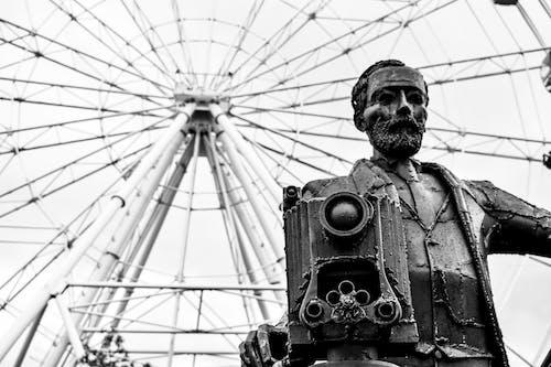 Δωρεάν στοκ φωτογραφιών με άγαλμα, άνδρας, Άνθρωποι