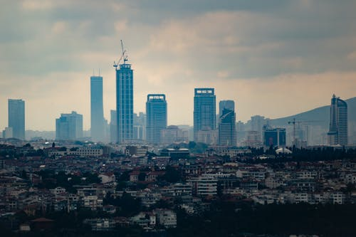 Free stock photo of apartment building, architecture, istanbul
