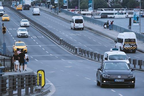 Free stock photo of cars, city street, day