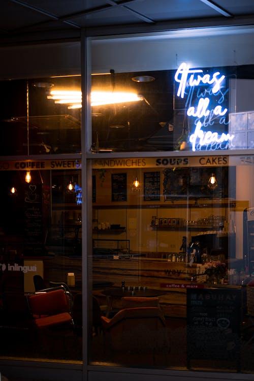 Free stock photo of neon