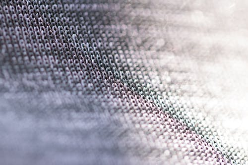 Fabric with gray threads