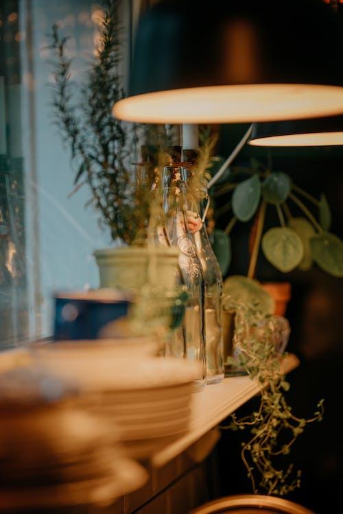 Immagine gratuita di arte, bottiglie, camera, candela