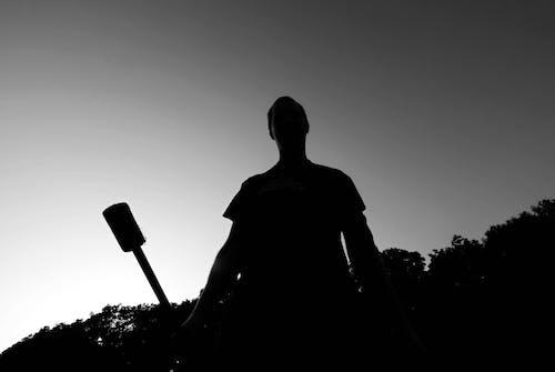 Free stock photo of černá, černobílá fotografie, černobílý, jediněčný