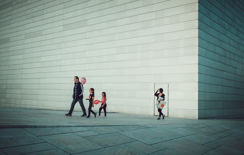 Free stock photo of architecture, baloons, children, family