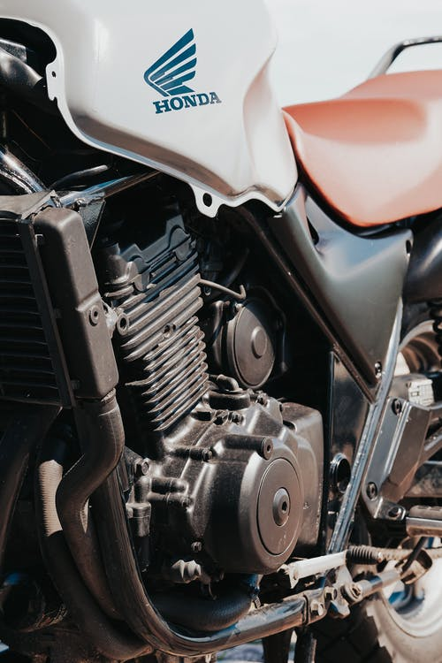 Black and Silver Car Engine