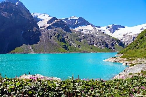 Základová fotografie zdarma na téma cestování, horské cestování, hory, jezero
