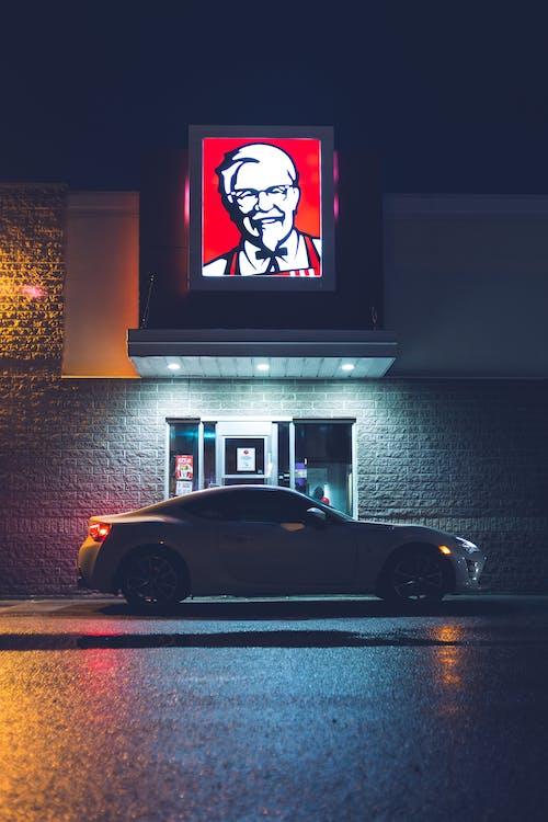 คลังภาพถ่ายฟรี ของ กลางคืน, ขนส่ง, ขับรถผ่าน