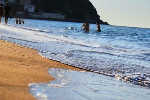 Free stock photo of actividad de playa, Agua de mar, arena