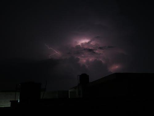 Free stock photo of rainy weather, thunder storm