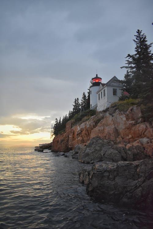 Kostenloses Stock Foto zu acadia, leuchtturm, nationalpark