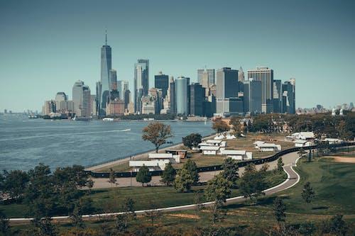 City Skyline Near Body of Water