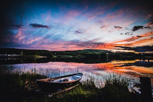 Photos gratuites de coucher de soleil, coucher du soleil, été, Finlande