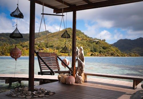 Gratis stockfoto met eiland, h2o, hout, kust