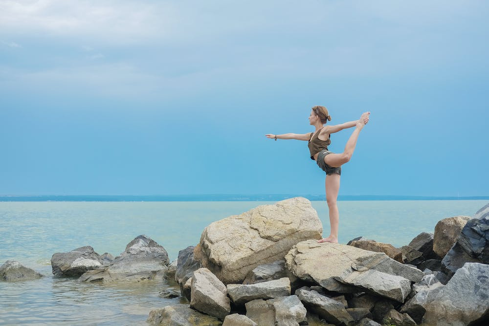 Yoga helps in Calories Burn