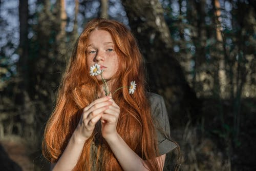Fotos de stock gratuitas de al aire libre, bonita, cabello, cabello rojo