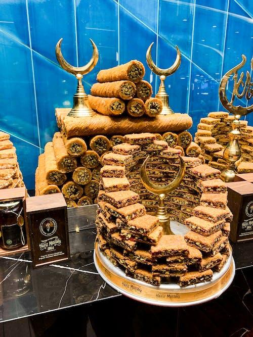 Free stock photo of arab, arabic, baclava, bakery