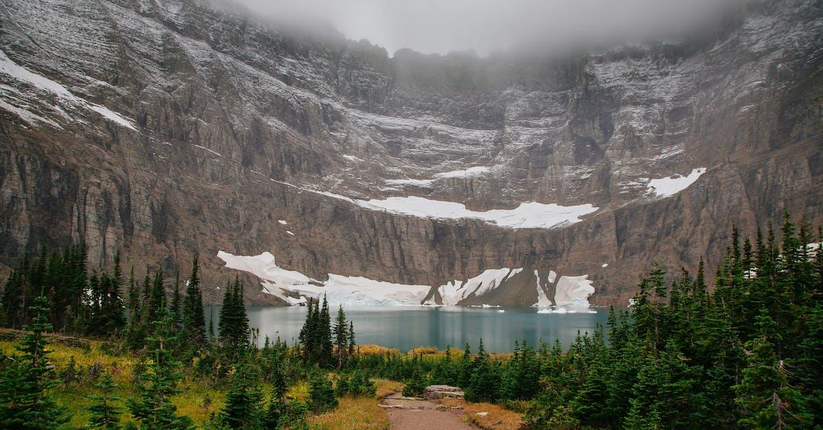 Фото макета на тему горное озеро