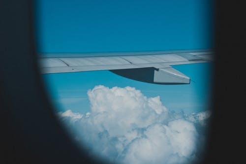 Free stock photo of airplane, airplane window, flying, memories