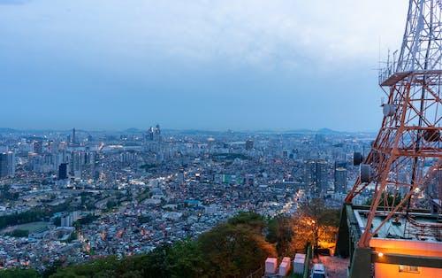 Δωρεάν στοκ φωτογραφιών με namsan, Κορέα, πόλη
