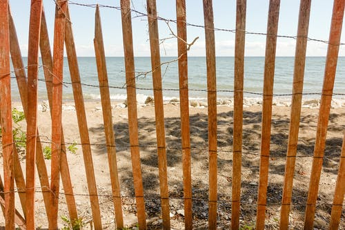 Darmowe zdjęcie z galerii z drewno, fechtować, lato, morze