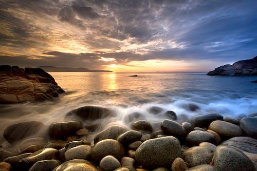 Gratis lagerfoto af aften, bølge, fotografi, hav